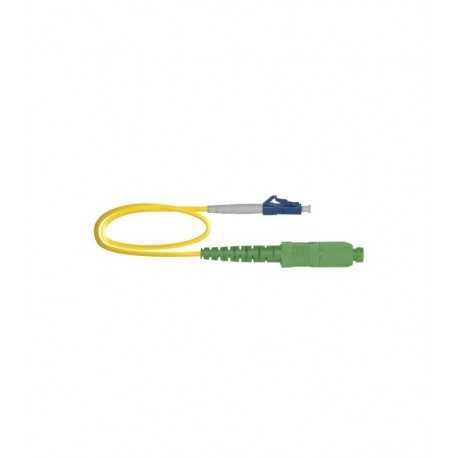 Latiguillo F.O. LC/UPC-SC/APC SM, 1mts, amarillo, LSZH-FR, G657A2 1.9mm