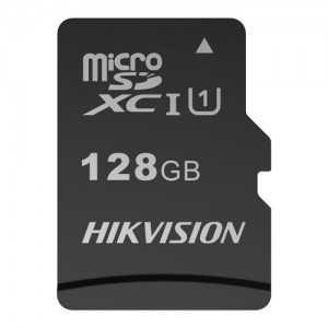 Tarjeta de memoria Hikvision, 128 GB, Clase 10 U1, Hasta 300 ciclos de escritura, FAT32, Especial para video-vigilancia y CCTV
