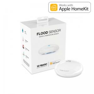 Multisensor de inundación y temperatura. APPLE HOME KIT. FGBHFS-101