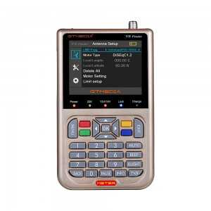 Localizador de satélite con Pantalla LCD