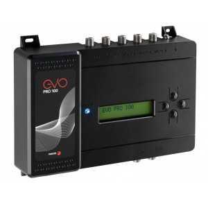 Central programable 32 filtros, 5 Entradas (x1 FM / x4 VHF-UHF), 35dB / VHF/UHF 93-113dBu. AGC (Control automático de ganancia)