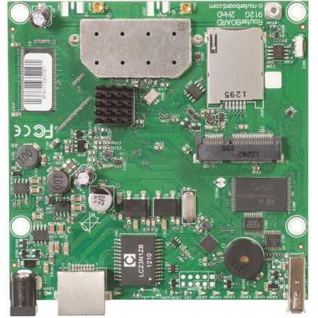 Placa de punto de Acceso BASEBOX 2 600MHz, con 1W y puerto Gigabite