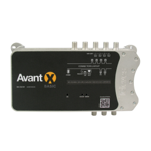 Central programable 32 filtros, 5 Entradas x1 FM G:29dB x4 VHF-UHF G:75dB, Salida FM/VHF/UHF 122dBu. 532101