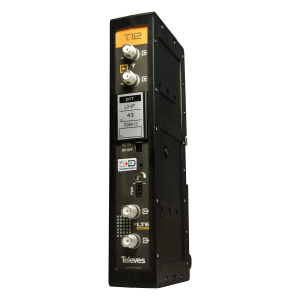 Amplificador mono canal, 50dB, 125 dBuV, 24V. Especificar canal deseado