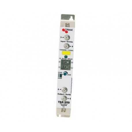 Amplificador mono canal, Serie TAS, G:40dB. Especificar canal desado