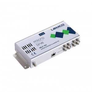 Central 4 x DVB-S/S2/S2X a 4xDVB-T/C