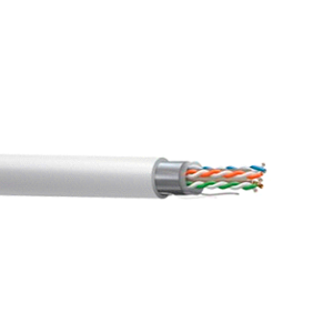 Cable CAT5e FTP, Cobre, CPR-FCA, Polietileno (exterior), blanco. Bobina 305mts