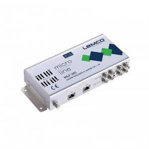 Central 4 x DVB-S/S2/S2X a 4xDVB-T/C + IP