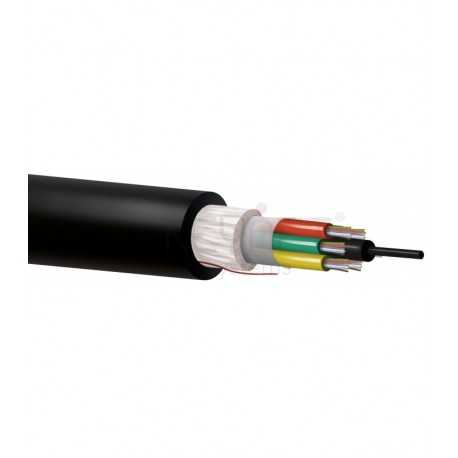 Cable 24F 3tx8f cubierta PE-LSZH. G657A2. Bobina 2000mts. Precio por metro.
