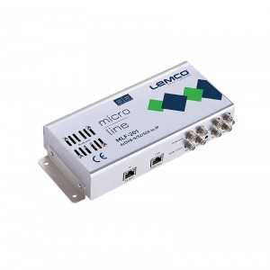 Central 4 x DVB-S/S2/S2X a IP