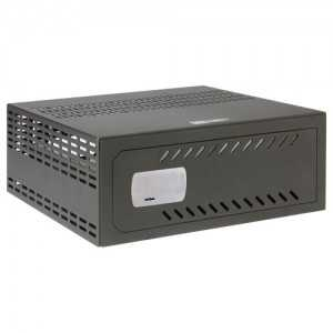 Caja fuerte especial para videograbador 1.5/2U rack. 221 (Al) x 611 (An) x 526 (Fo) mm. OLLE