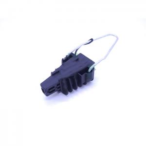 Racor para anclaje aéreo de cables de 5 a 12mm, 2,5Kn
