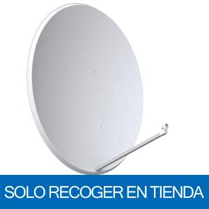 Antena parabólica de 120x100cms, 42,2dB, acero. Sin embalaje. Solo recoger en tienda