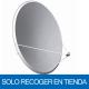 Antena parabólica de 137x122cms, 43dB, acero galvanizado. Sin embalaje. Solo recoger en tienda