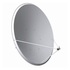 Antena parabólica de 137x122cms, 43dB, acero galvanizado, Embalaje individual