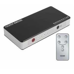 Conmutador HDMI 4 entradas y 1 salida
