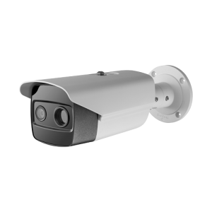 Cámara IP termográfica, 384x288 VOx, Lente 15mm, Sensibilidad térmica ≤35, Alta Precisión ±0.5ºCmK, Sensor óptico 1/2.7 4 Mpx