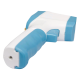 Termómetro infrarrojo de precisión, +-0.3º, 250ms, Rango de medición 32ºC ~ 43ºC. Notificación sonora por exceso de temperatura