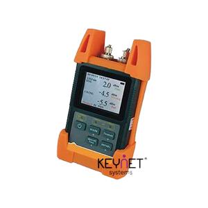 """Medidor potencia óptica para 1310, 1490, 1550nm. Pantalla 2.8"""" Apto para ICT2. Conexión USB para volcado a PC"""