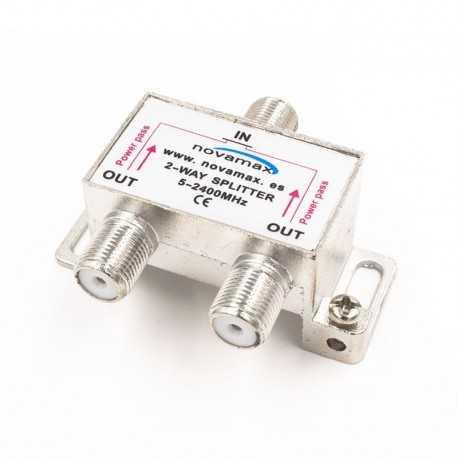 Distribuidor de 2 salidas. Novamax