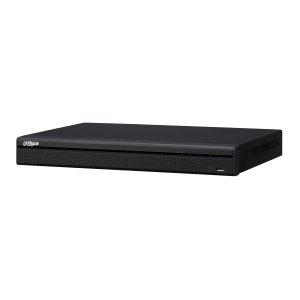 NVR 16ch IP POE hasta 4K/8Mpx, 200Mbps, H.265, 2 HDD