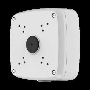 Caja de conexiones techo/pared- Aluminio - 135 (Al) x 135 (An) x 55 (Fo) mm