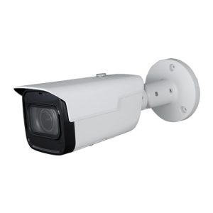 Cámara IP bullet, 4Mpx Starlight, IR 60mts, 2.7-13.5mm, H.265+, PoE802.3af. IP67