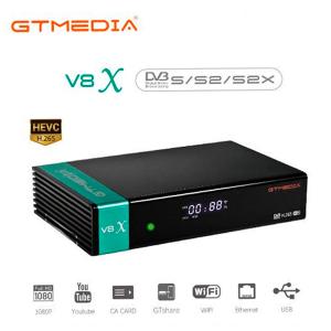 Receptor SAT (S2), FULL HD, H.265, Wifi integrado, Lector de tarjetas.