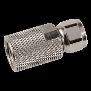 Conector F roscado para cable Coaxial TR165 de 10mm