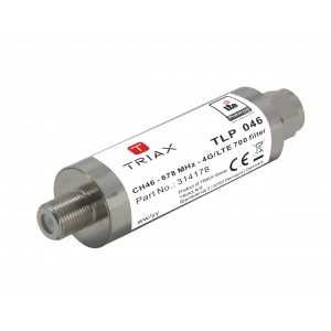 Filtro de rechazo LTE C46, 50 dB. Interior, Conector F