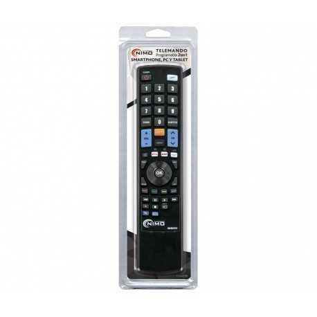 Mando programable universal PC 2:1 Deluxe, nuevo modelo, programable por PC, Smartphone o Tablet a través del Software MANPR000