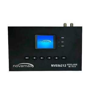Modulador HD TWIN UHF/VHF 85dB, 70-100dBuV, MER: &gt36dB. Pantalla LCD y Mini USB