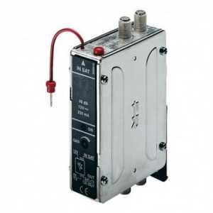 Módulo monocanal 45 dB , 120 dBuV canales adyacentes. Alimentación a 12 Voltios.
