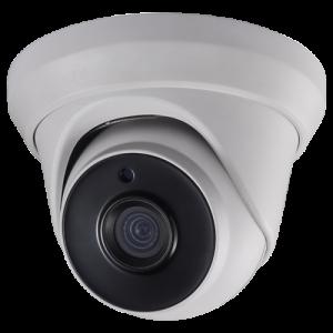 Cámara domo 4 en 1, 1080p, 2.8mm, IR 40mts. IP66, blanca