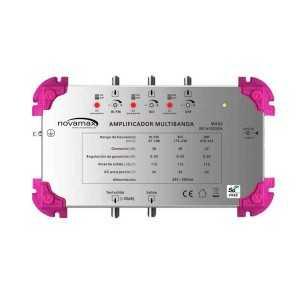 Central multibanda 5G, 3E UHF - VHFIII- VHFI/FM y una salida, 42/38/38dB, 115dBnV