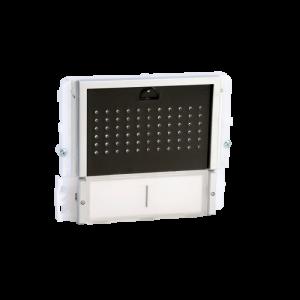 Módulo de audio con 2 pulsadores, con tapa negra