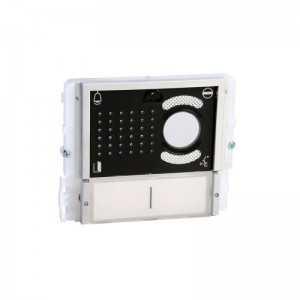 Módulo audio y video de 2 pulsadores, con tapa negra