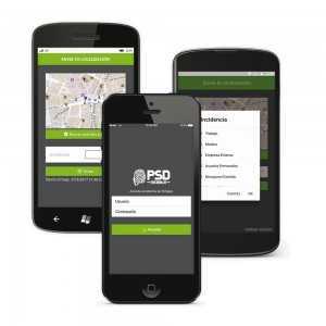 Licencia para aplicación para móviles PSD MOBILE de Control de Presencia