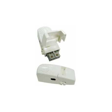 Fuente de alimentación 12V 220ma. 1 sal-banda paso 5-2500 MHz, conexión easyF