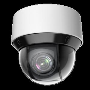 Cámara IP PTZ, 4Mpx Ultra Low Light, IR 50mts, 25X, 4.8-120mm, H265+, PoE802,3af, IP66