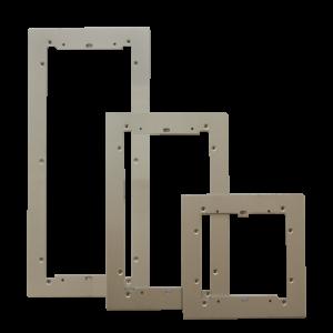 Marco Embellecedor Aluminio para 3 mod.Ikall