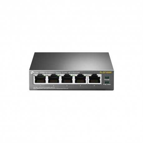 Switch x5 Sobremesa 4 puertos POE