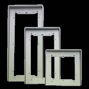 Visera de 2 modulos para placa Ikall