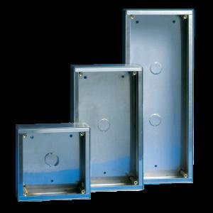 Caja de superficie 1 módulo 142x142x58