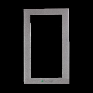 Soporte 2 módulos para placa mod. IKALL color silver