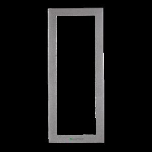 Soporte 3 módulos para placa mod. IKALL color silver