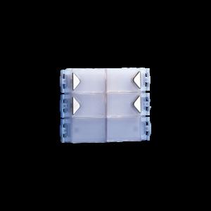 Módulo 4 pulsadores Simplebus Powercom