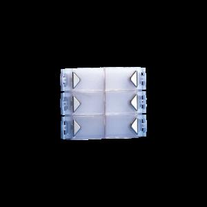 Módulo 6 pulsadores Sistema Simplebus, Serie Powercom