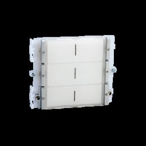 Modulo de 6 pulsadores, sistema tradicional Simplebus para placa Ikall.