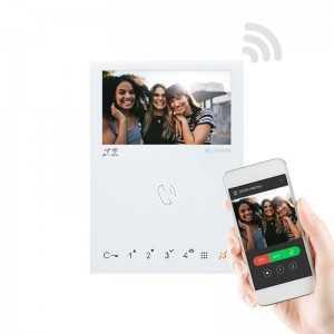 Monitor Mini Hands Free en color, Wifi. Tecnología VIP.